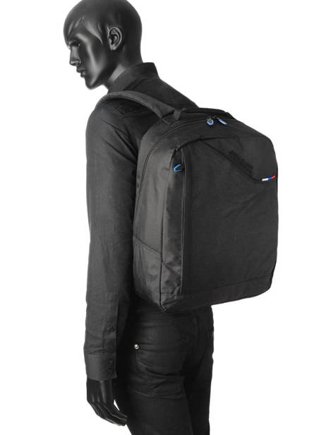 Backpack American tourister Black at business 3 59A002 other view 2
