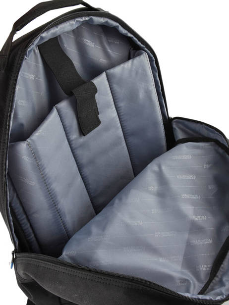 Backpack American tourister Black at business 3 59A002 other view 4