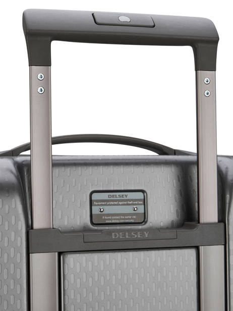 Hardside Luggage Turenne Delsey Gray turenne 1621821 other view 1