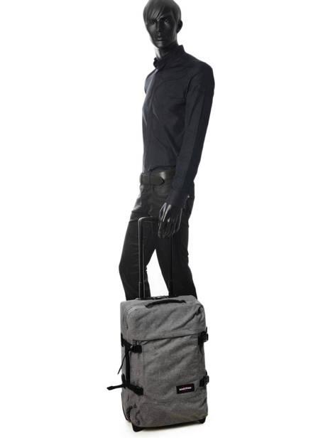 Valise Cabine Souple Eastpak Noir authentic luggage K61L vue secondaire 2