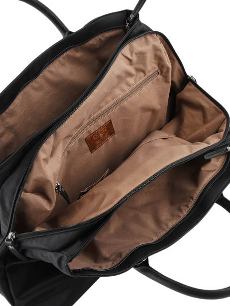Cabin Duffle Jump Black 6513B other view 4