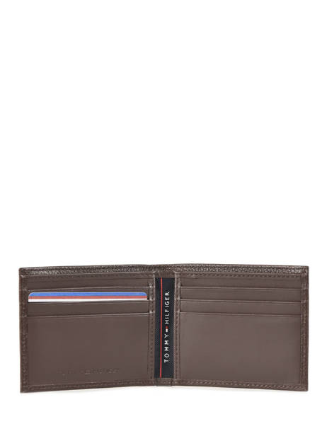 Porte-cartes Cuir Tommy hilfiger Marron th core AM02396 vue secondaire 1