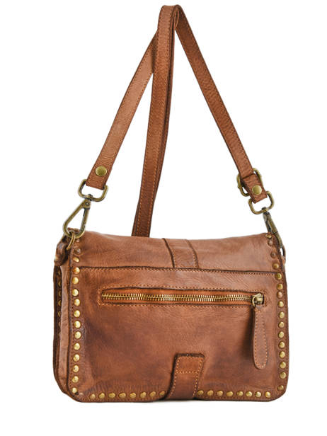 Shoulder Bag Dewashed Leather Milano Brown dewashed DE17111 other view 2