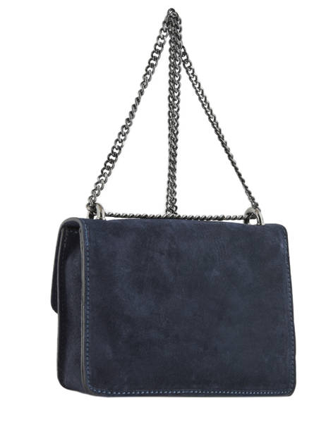 Sac Bandoulière Velvet Milano Bleu velvet VE17111 vue secondaire 2