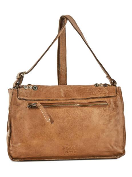 Shoulder Bag Studs Leather Basilic pepper Brown studs BSTU06 other view 4