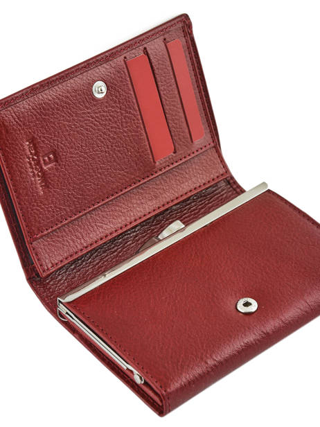 Purse Leather Hexagona Red republique 331092 other view 2