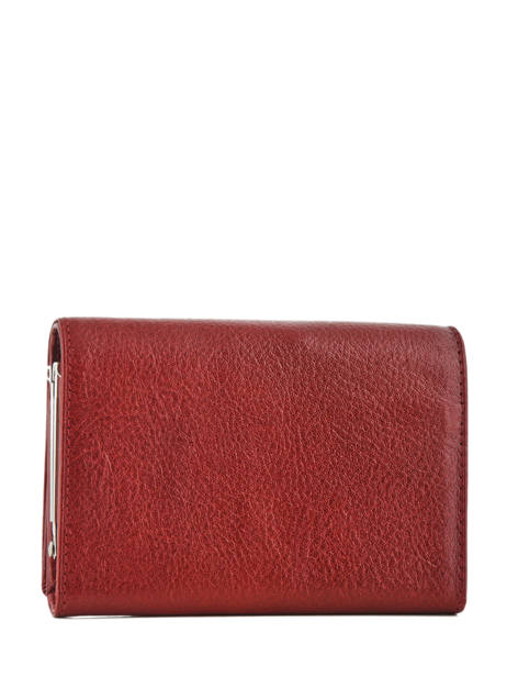 Purse Leather Hexagona Red republique 331092 other view 1