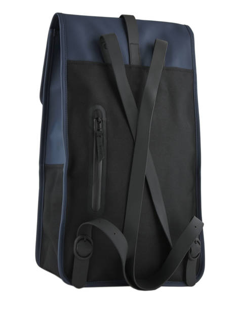 Backpack 1 Compartment + 13'' Pc Rains Blue boston 1220 other view 4