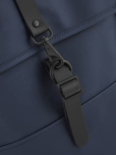 Backpack 1 Compartment + 13'' Pc Rains Blue boston 1220 other view 1