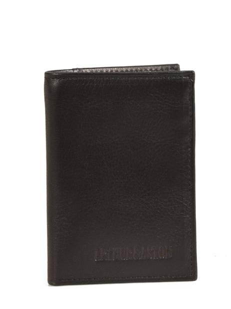 Card Holder Leather Arthur et aston Black jasper 1589-100