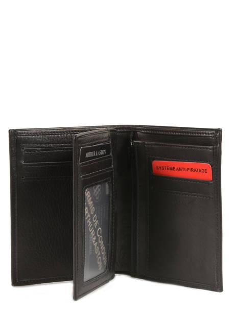 Wallet Leather Arthur et aston Black jasper 1589-127 other view 1