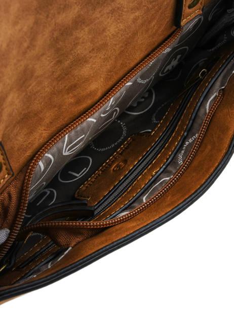 Sac Porté Main Patchwork Lulu castagnette Beige patchwork INASSIO vue secondaire 4