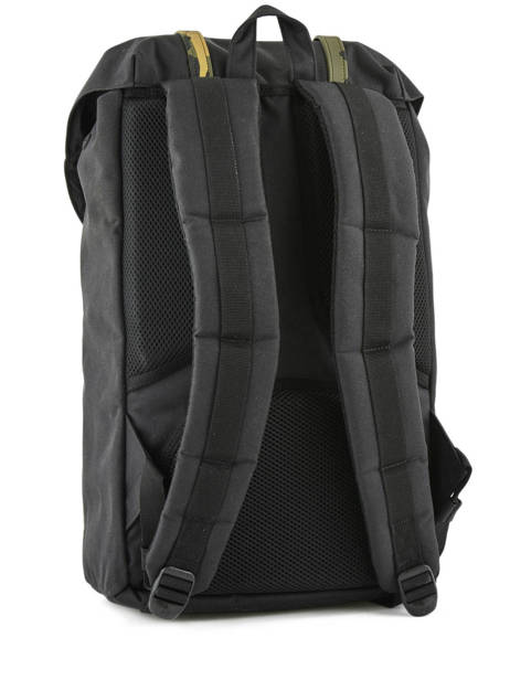 Backpack 1 Compartment + 15'' Pc Herschel Black classics 10014 other view 3