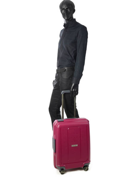 Cabin Luggage Range Lock Travel Pink range lock CDN20 other view 4