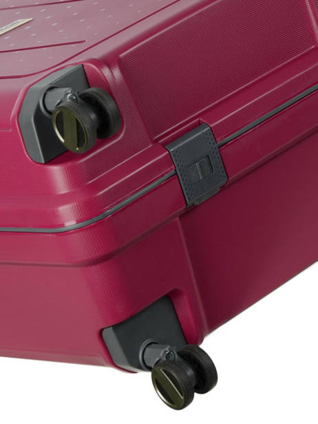 Hardside Suitcase Range Lock Travel Pink range lock CDN28 other view 3