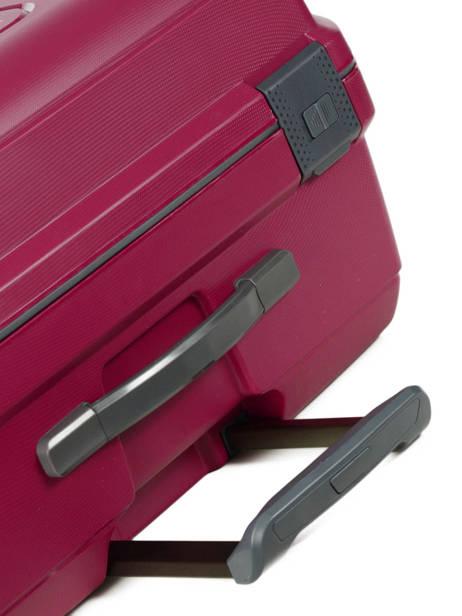Hardside Suitcase Range Lock Travel Pink range lock CDN28 other view 2