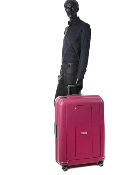 Hardside Suitcase Range Lock Travel Pink range lock CDN28 other view 4
