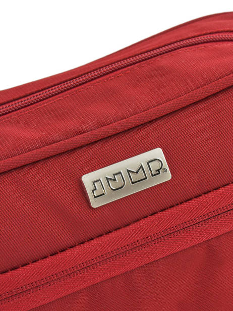 Toiletry Kit Jump Red toledo2 soft TL07 other view 1