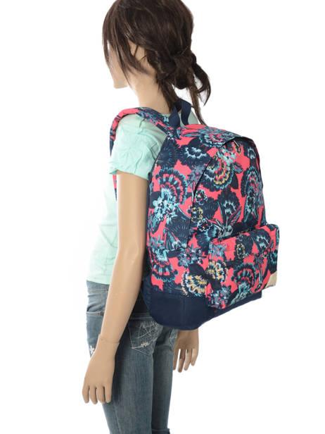 Sac à Dos 1 Compartiment Roxy Rose backpack RJBP3637 vue secondaire 2