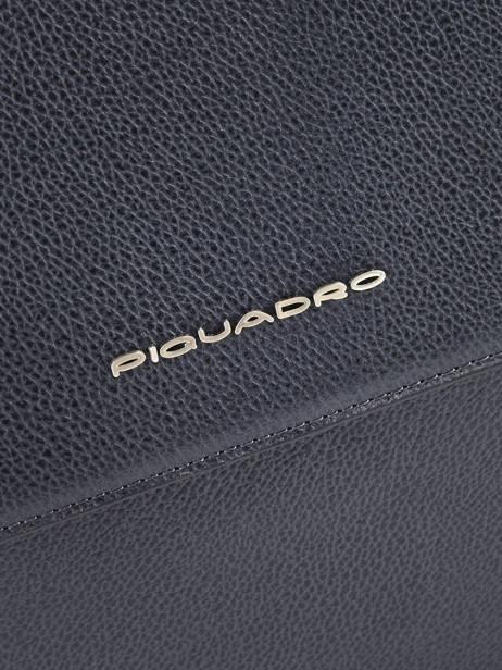 Serviette A4 Erse + Pc 15'' Piquadro Noir erse CA4116S9 vue secondaire 1
