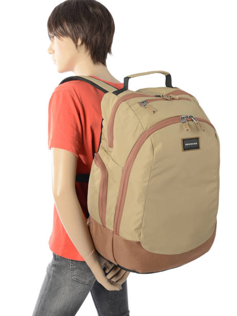Backpack 15'' Laptop With Free Wallet Quiksilver Brown youth access QYBP341Q other view 2