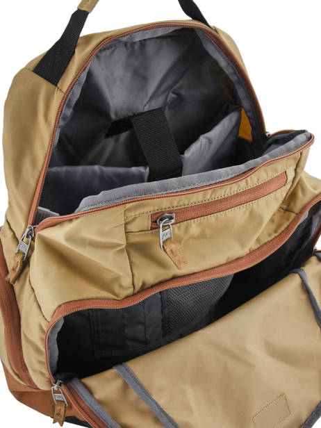Backpack 15'' Laptop With Free Wallet Quiksilver Brown youth access QYBP341Q other view 4