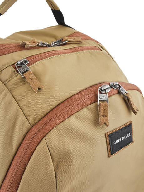 Backpack 15'' Laptop With Free Wallet Quiksilver Brown youth access QYBP341Q other view 1