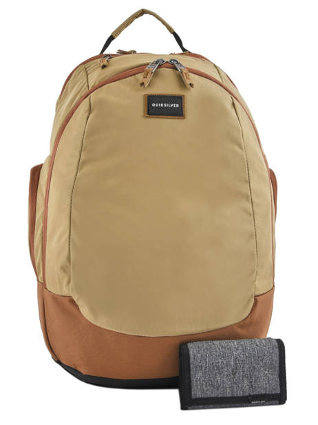 Backpack 15'' Laptop With Free Wallet Quiksilver Brown youth access QYBP341Q