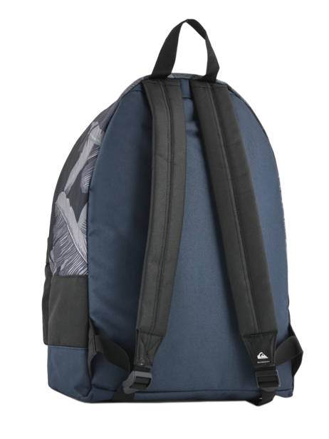 Backpack 1 Compartment Quiksilver Black youth access QYBP3406 other view 3