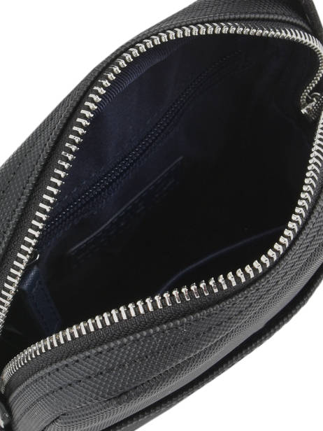 Crossbody Bag Lacoste Black men's classic NH2340HC other view 4