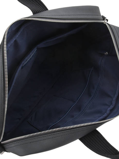 Briefcase 15'' Laptop Lacoste Black men's classic NH2451HC other view 5