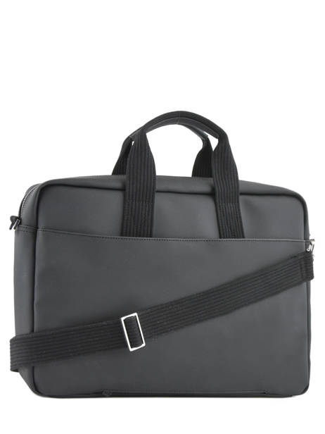Briefcase 15'' Laptop Lacoste Black men's classic NH2451HC other view 4