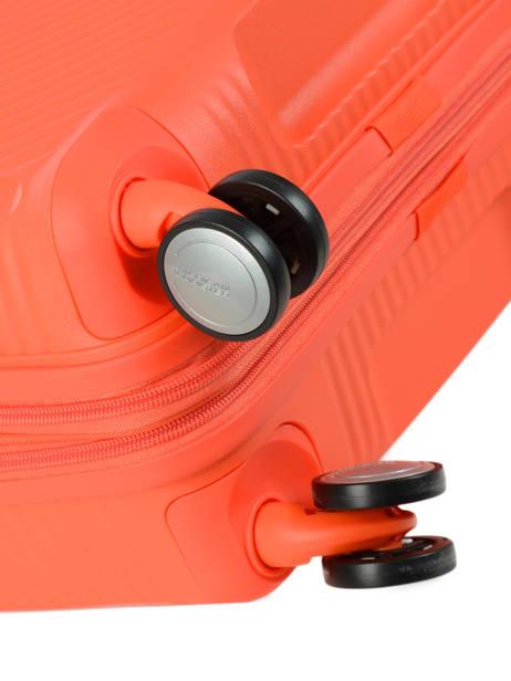 Cabin Luggage American tourister Orange soundbox 32G001 other view 2