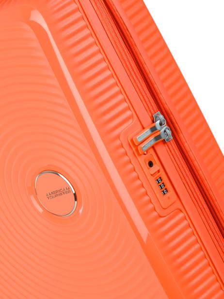 Cabin Luggage American tourister Orange soundbox 32G001 other view 1