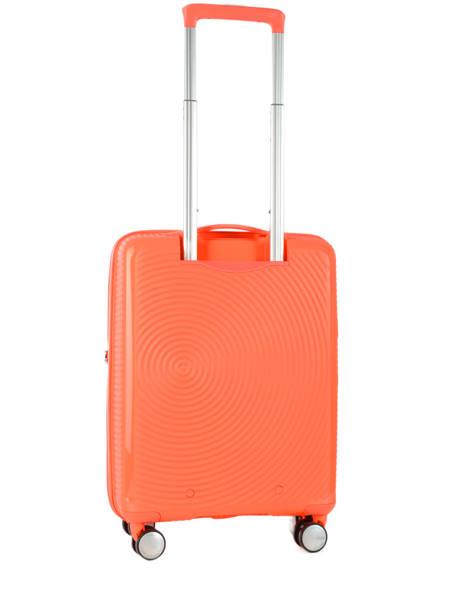 Cabin Luggage American tourister Orange soundbox 32G001 other view 4