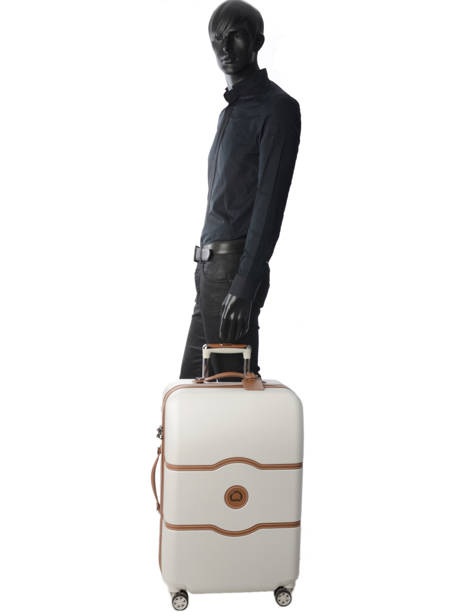 Hardside Luggage Chatelet Air Delsey White chatelet air 1672810 other view 3