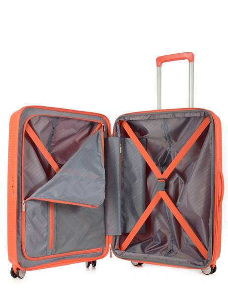 Valise Rigide Soundbox American tourister Orange soundbox 32G003 vue secondaire 4