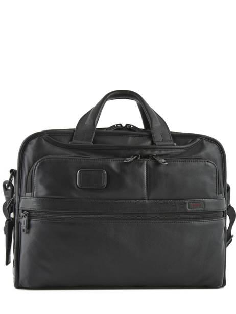 Briefcase 2 Compartments Tumi Black alpha DH96108