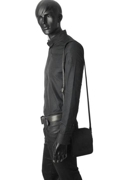 Crossbody Bag Hexagona Black worker D72282 other view 1