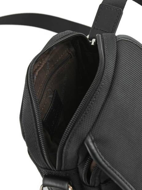 Crossbody Bag Hexagona Black worker D72282 other view 3