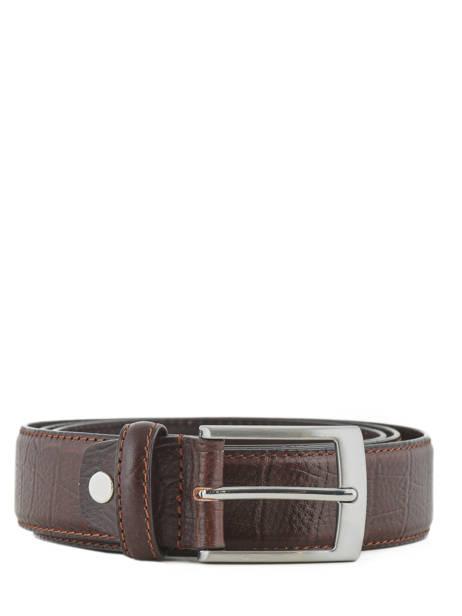 Adjustable Men's Belt Katana Brown atlanta C0036
