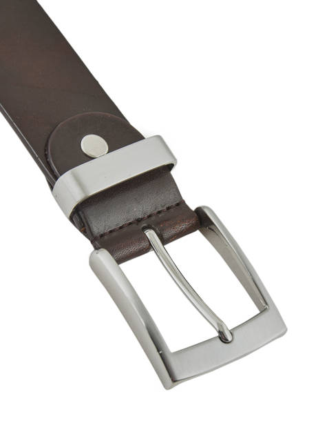 Adjustable Men's Belt Katana Brown atlanta C0038 other view 1