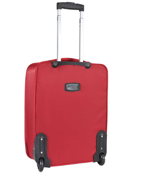 Cabin Luggage Travel Red city 2885-S2 other view 4