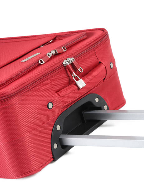 Cabin Luggage Travel Red city 2885-S2 other view 1