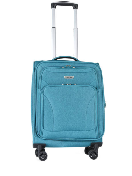 Valise Cabine Travel Bleu snow 12208-S