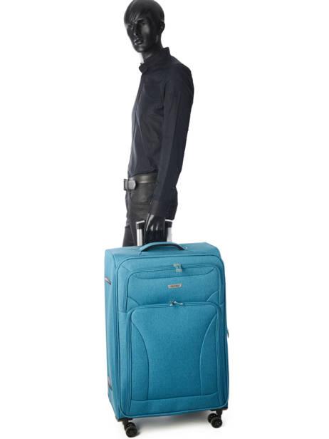 Valise Souple Snow Travel Bleu snow 12208-L vue secondaire 3