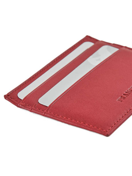 Purse Leather Francinel Red 37902 other view 2