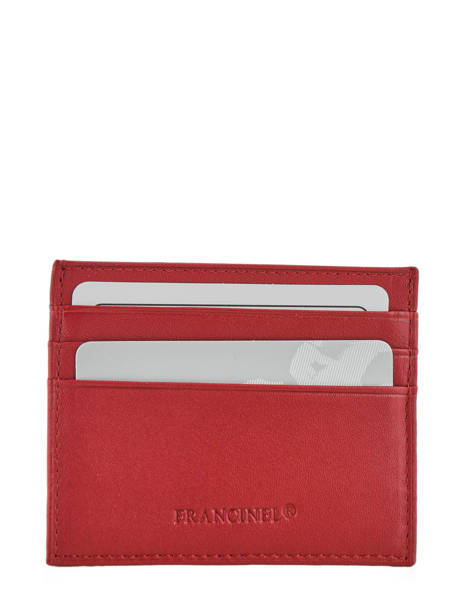 Purse Leather Francinel Red 37902