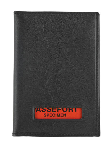 Wallet Leather Francinel Black 37940