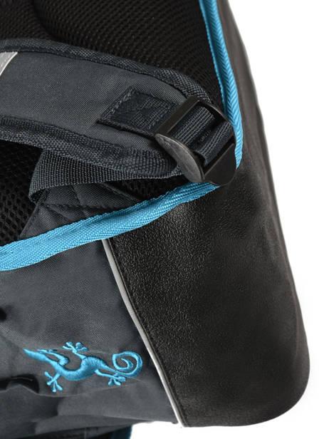 Cartable 3 Compartiments Cameleon Bleu new basic NBA-CA41 vue secondaire 1